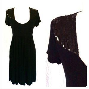 Michael Kors Sequin Jersey knit dress S